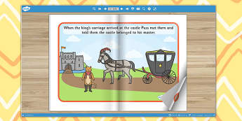Puss in Boots eBook - book, interactive books, traditional tales