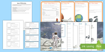 Astronaut Training STEM Activity - Space, Planet Earth, Earth's Movement, Earth and Space, Sun, Planets, Solar System, Universe, Stars