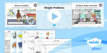 PlanIt Maths Y1 Measurement Lesson Pack Understanding Weight (2)