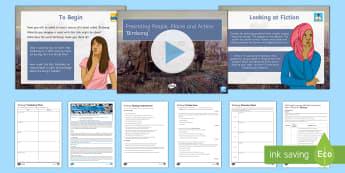 AQA P1 Reading Booklet Lesson Pack to Support Teaching on 'Birdsong' - AQA P1 Reading Booklet, paper one, AQA, exam revision, exam practice, GCSE English, Paper 1, Sebasti