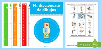 PE Games Picture Dictionary and Word Card  Display Pack - Spanish - PE Games Picture Dictionary and Word Card  Display Pack,Spanish,Spanish