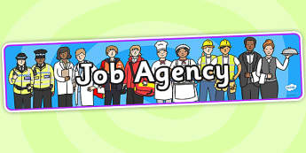 Job Agency Role Play Banner-job agency, role play, banner, role play banner, job agency role play, job agency banner, display banner