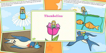 Thumbelina Story - stories, story books, tradition tales, reading