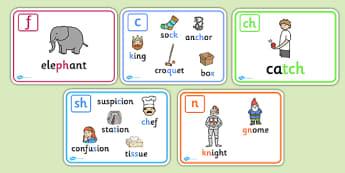 Alternative Spellings Display Posters (Phase 5) - alternative spellings, spelling, phase 5, phase five, display, posters, sign, how to spell, alternatives, alternative, spell