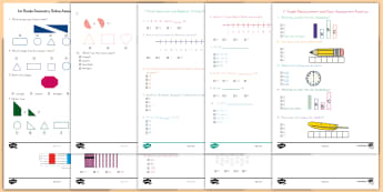 1st Grade Math Online Assessment Practice Go Respond Activity Pack - Common Core Math, assessment, digital