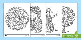 us t t winter mindfulness coloring activity sheets ver 1