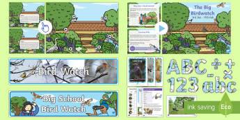 KS1 Bird Watch Resource Pack - KS1 & 2 RSPB Big School's Birdwatch (3 Jan-17 Feb 2017), RSPB, school, bird, bird watch,Australia