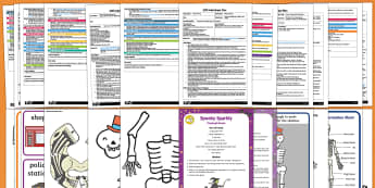 EYFS Adult Input Planning and Resource Pack to Support Teaching on Funnybones