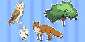 Owl Babies Story Cut Outs - Owl Babies, Martin Waddell,  story, story book, story book resources, story sequencing, story resources, owl, family, PSHE, PSE, living things, cut out