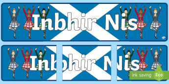 Inverness (Inbhir Nis) Display Banner Gaelic - CfE Gaelic DisplayCfE Inbhir NisInvernessGaelicDisplay BannerCurricular AreasCitiesPeople and Place,