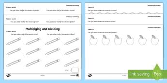 multiplication activity sheets ks1 maths resources page 1. Black Bedroom Furniture Sets. Home Design Ideas