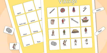 Vikings Vocabulary Matching Mat - vikings, vocabulary, matching mat, word mat, vocabulary mat, vocab mat, keyword, key word mat, viking vocabulary, vocab