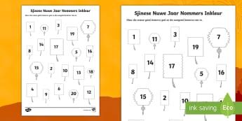 Sjinese Nuwe Jaar Ewe En Onewe Getalle Inkleur Aktiwiteit  - Januarie, tradisies, fees, nommers, wiskunde, gesyferdheid, fynmotories
