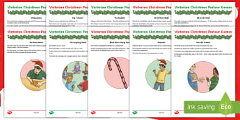 Victorian Christmas Parlour Games Teaching Ideas - Drama, Drama Games, Party Games, Icebreakers, Traditional games
