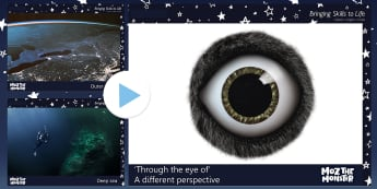 John Lewis 'Through the Eye of' a Different Perspective PowerPoint - Moz The Monster, John Lewis, Christmas 2017, Christmas, Moz, Advert, Imagine, Monster, Monster Under