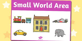 Small World Area Sign - small world, area, sign, display sign