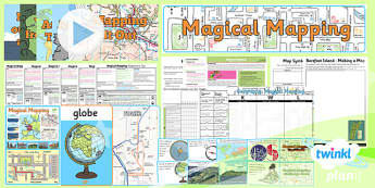 Geography: Magical Mapping Year 2 Unit Pack