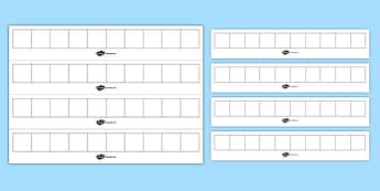Blank Number Track (Large) - blank number track large, number track, blank, numbers, number, numeracy, large, track, maths, Math, dumber tracks