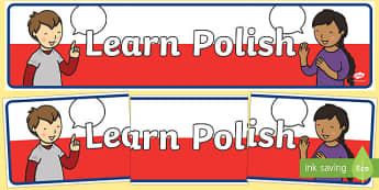 Learn Polish Banner