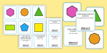 2D Shape Matching Cards English/Polish - 2D Shape Matching Cards - 2d, shape, matching, cards, match, 2Dshape, shaoe, mathching,Polish-transl