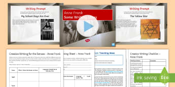 Anne Frank Writing Stimulus Picture - Events Resources, World War II, Holocaust, Holland, Netherlands, creative writing, writing, fiction,