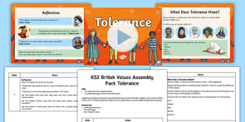 British Values Tolerance Assembly Pack