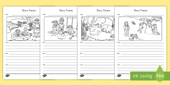 Picture and Story Writing Activity - picture, writing, observation, activity, planning, story, editing, structure, first, next, last, wri
