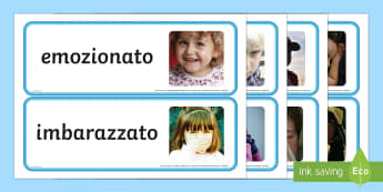 Le Emozioni Foto Illustrative - foto, illustrate, schede, italiano, italian, materiale, scolastico