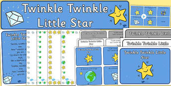 Twinkle Twinkle Little Star Resource Pack - twinkle twinkle little star, resource pack, pack, themed resource pack, twinkl twinkl little star pack