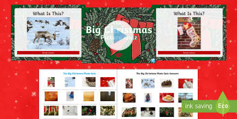 UKS2 The Big Christmas Picture Quiz Pack - Christmas quiz, xmas, picture, morning activity, team work