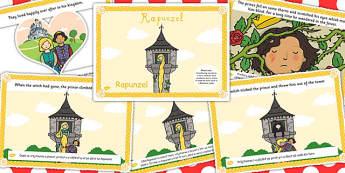 Rapunzel Story EAL Romanian Translation Version - romanian, story