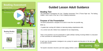 Year 3 Term 3 Fiction Reading Assessment Guided Lesson Teaching Pack - Year 3, Reading Assessment Guided Lesson PowerPoints, KS2, reading, read, assessment, guided, guidan