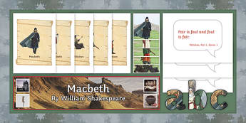 Macbeth Display Pack