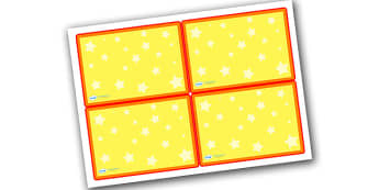 Editable Challenge Cards Stars - challenge cards, blank challenge cards, editable cards, editable cards with star background, editable coloured cards, card