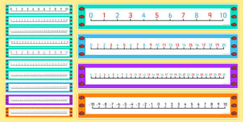 Ladybird Themed Number Line Pack - ladybird, themed, number line, pack
