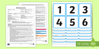 EYFS Catching Competition Counting Activity Adult Input Plan and Resource Pack - Mathematics, Numbers, Counting, Compare, More, Less, Fewer, Same, Amount, Outdoors, Early Years Plan