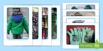 Winter Clothes Display Photos English/Hindi - Photographs, winter, clothes, display, scarf, coat, gloves, cold, chilly