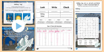 Year 2 Term 2A Week 3 Spelling Pack - Spelling Lists, Word Lists, Spring Term, List Pack, SPaG