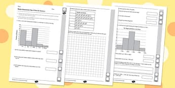 Year 4 Maths Assessment: Statistics Term 2 - year 4, maths, assessment