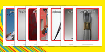 Olympic Torch Display Photos - welsh, cymraeg, Rio Olympics, Olympic Torch, Display Photos