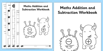 Year 3 Maths Addition and Subtraction Workbook - year 3, maths, addition, subtraction, workbook