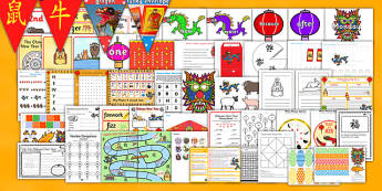 Chinese New Year KS1 Lesson Plan Ideas and Resource Pack - Plans