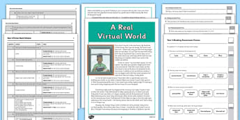 Year 4 Reading Assessment: Fiction Term 1 - year 4, reading, assessment, fiction, english, ks2