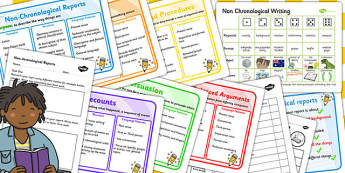 Teaching Assistant Non-Chronological Report Resource Pack - pack