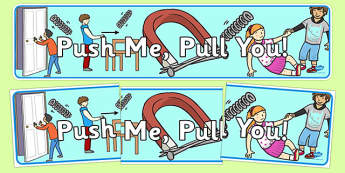 Push Me Pull You Display Banner - forces, push, pull, IPC