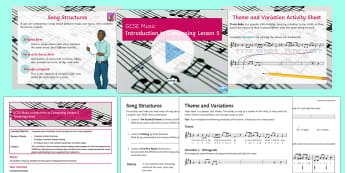 Introduction to Composing Lesson  5 - Music, GCSE, Composing, KS4, Secondary