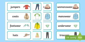Clothes Shop Labels - Clothes shop Role Play, clothes shop resources, shop, till, buy, money, clothes, ourselves, shoes, role play, display, poster, Shop Labels - shop, price, price labels, for sale,