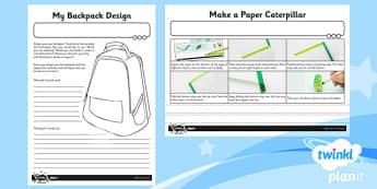 Art: Fabricate KS1 Home Learning Tasks