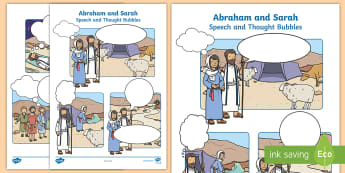 Bible Stories Abraham and Sarah Primary Resources - Primary Resou