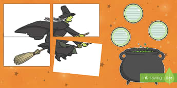 Halloween Cauldron Door  Display Cut-Outs